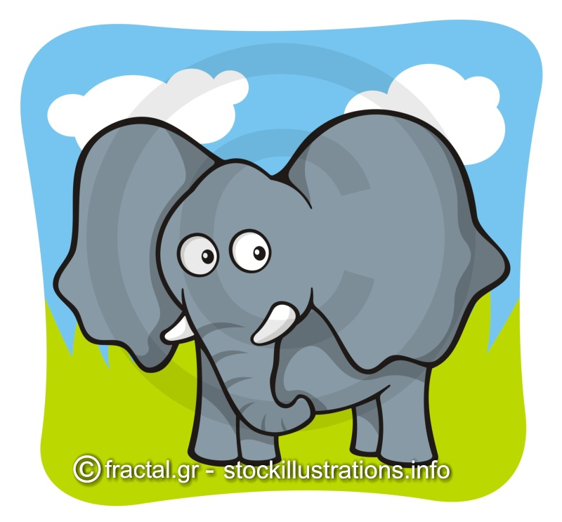 cartoon elephant wallpaper - photo #25