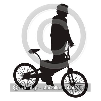 Bicycle rider 1