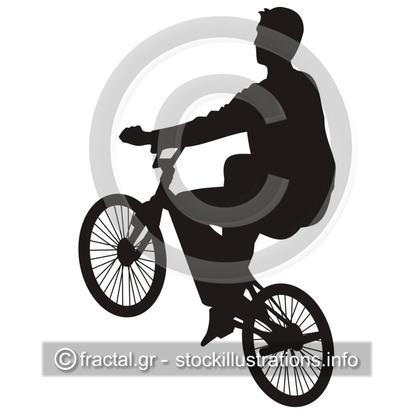 Bicycle rider 3