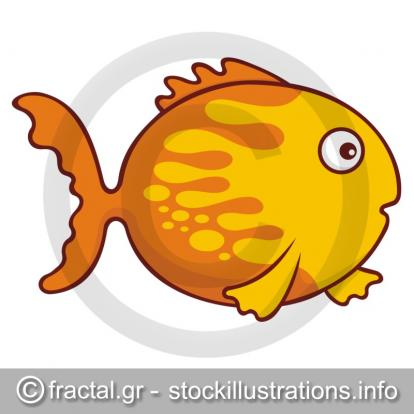 goldfish cartoon pictures. Goldfish cartoon